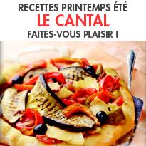 Le Cantal <br>Recettes faciles pour tous les jours