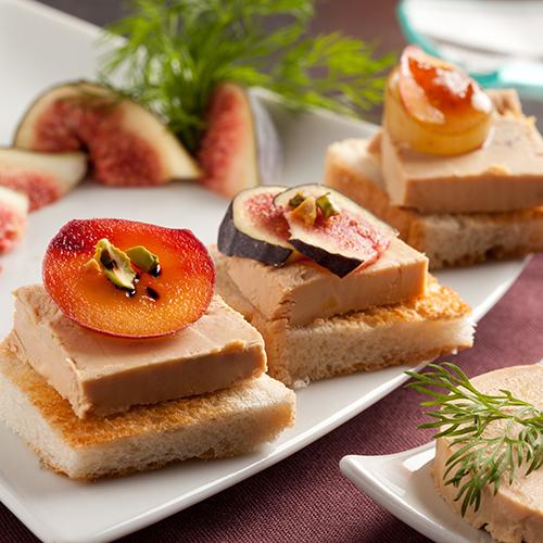 Recettes avec du rinquinquin le vin de p che for Amuse bouche foie gras aperitif
