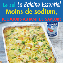 Le sel<br>La Baleine Essentiel<br>innovation unique
