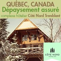 À Mont Tremblant,<br>le Canada grandiose<br>Déconnection immédiate