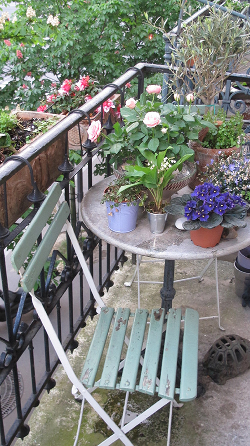 Escapades urbaines et romantiques avec fleurs de soleil for Terrasse et cie paris 18
