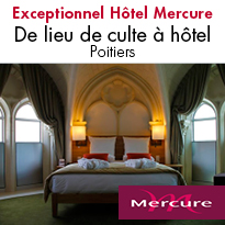 Hôtel**** Mercure <br> Poitiers Centre