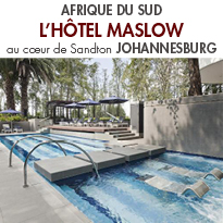 The Maslow<br>un nouvel hôtel Sun International<br>à Johannesburg