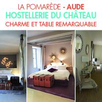 L'Hostellerie du Château de la Pomarède <br>dans L'Aude