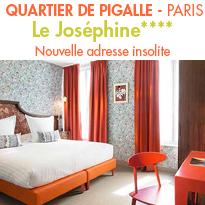 Le Joséphine**** Hôtel<br> adresse insolite