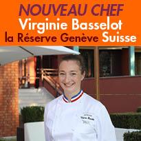 Suisse<br>Virginie Basselot<br>le nouveau chef<br>de la Réserve Genève