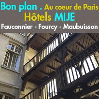 Bon plan<br>auberges de jeunesse<br>au coeur de Paris
