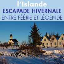 L'Islande,<br> entre féérie et légende...