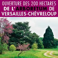 Ouverture<br>de l'Arboretum<br>de Versailles<br>Chèvreloup
