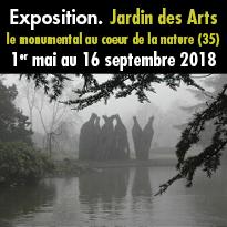 Expo<br>Jardin des Arts<br>parc d'Ar Milin<br>à Châteaubourg
