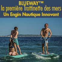 BlueWay™, la première Trottinette des mers