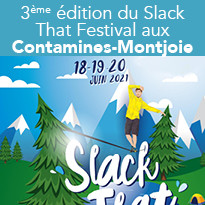 3ème édition du Slack That Festival aux Contamines-Montjoie