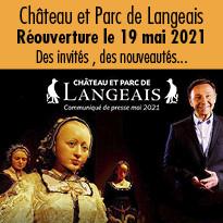 Réouverture du château de Langeais le 19 mai 2021