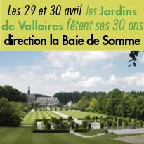 Les jardins<br>de Valloires (80)<br>fêtent leurs 30 ans