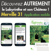 Le Labyrinthe<br>de Merville (31)<br>lance son application<br>mobile