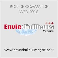 Bon de commande Envie d'ailleurs Magazine 2018