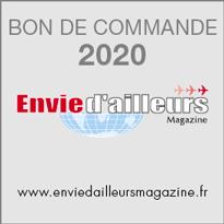 Bon de commande Envie d'ailleurs Magazine 2020
