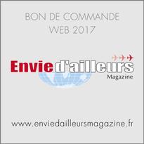 Bon de commande Envie d'ailleurs Magazine 2017