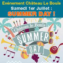 Gruissan (11)<br>Château Le Bouïs<br>SUMMER DAY <br>1er juillet