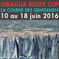 Du 10 au 18 juin<br>GIRAGLIA ROLEX CUP<br>LA COURSE DES GENTLEMEN