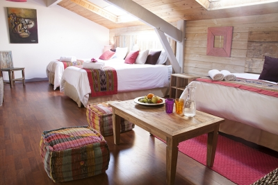 Et indien en septembre direction les landes for Chambre yoga