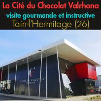 La Cité du Chocolat<br>Valrhona<br>s'agrandit<br>Train-l'Hermitage (26)