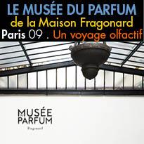 Le musée du parfum<br>de la Maison Fragonard<br>à Paris