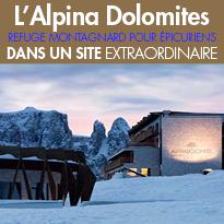 L'Alpina Dolomites<br>élégance et raffinement