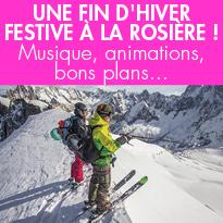 Savoie<br>La Rosière (73)<br>fait son printemps<br>du ski !
