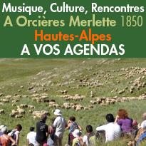 A Vos Agendas<br>Orcières<br>Merlette (05)<br>Les moments<br>forts de l'été !