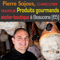 Hautes-Pyrénées<br>Artisan charcutier<br>Inauguration<br>d'un nouvel atelier-boutique <br> à Beaucens 65