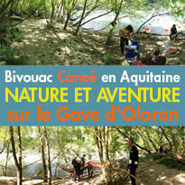 Séjours Insolites<br>Bivouac Canoë<br>Nature et Aventure