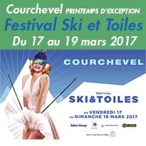 Courchevel (73) en Savoie<br>ce printemps<br>c'est la fête !
