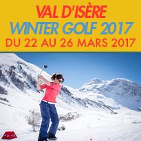 Du 22 et 23 mars<br>la BMW<br>Val d'Isère<br>Winter Golf Cup