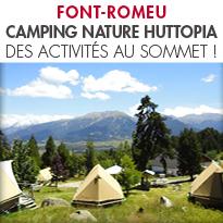 HUTTOPIA FONT-ROMEU,<br> AU PLUS PROCHE DE LA NATURE