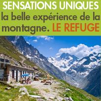 Bienvenue<br>dans les refuges<br>des Alpes de l'Isère !