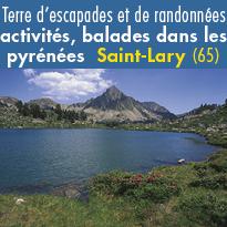 Terre d'escapades<br>et de randonnées<br>Saint-Lary (65)