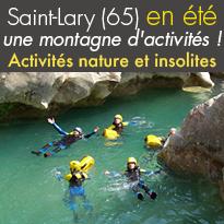 Pyrénées<br>Des activités<br>nature et insolites<br>Saint Lary (65)