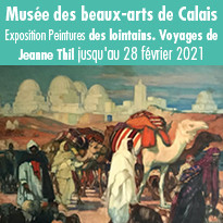 Exposition Peintures des lointains. Voyages de Jeanne Thil