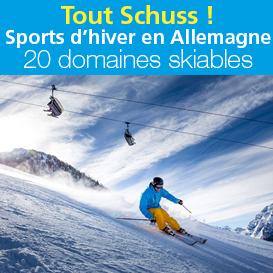 Tout Shuss !<br>sports d'hiver<br>en Allemagne