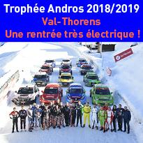 Le Trophée Andros<br>fête<br>son 30ème<br>anniversaire