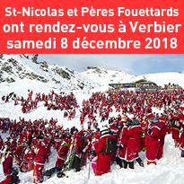 Suisse<br>Tous à Verbier<br>samedi<br>8 décembre 2018 !