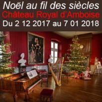 La magie de Noël<br>Château Royal<br>d'Amboise