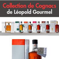 La nouvelle collection <br>de Cognacs<br>de Léopold Gourmel
