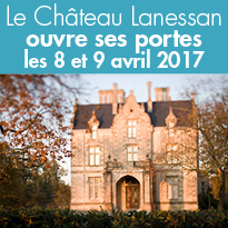Le Château Lanessan (33)<br>ouvre ses portes<br>les 8 et 9 avril 2017