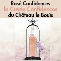 St Valentin<br>dites le avec du Rosé !<br>Une Cuvée Entremetteuse