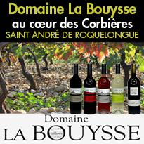 Vins de plaisirs<br>Domaine La Bouysse<br>Vin du Languedoc