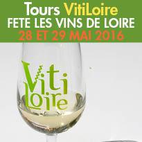 Tours (37)<br>VitiLoire<br>grande manifestation<br>28 et 29mai 2016