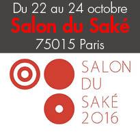 Salon du Saké<br>Du 22 au 24 octobre<br>Paris 75015