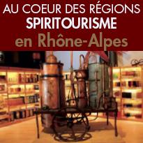 À la découverte<br>du Spiritourisme<br>région Rhône-Alpes